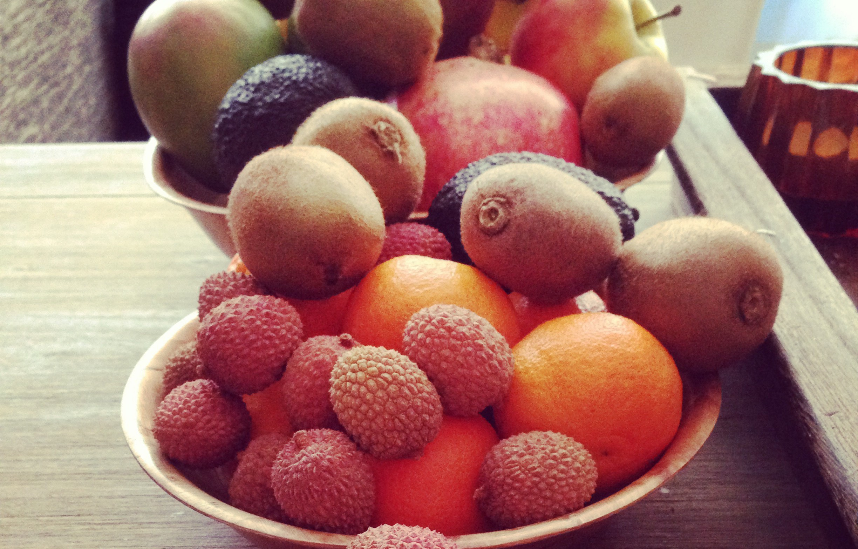 fruit van de markt