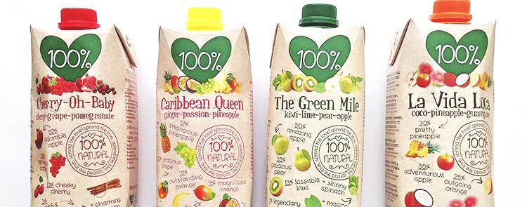 100% natural juice