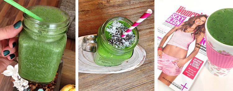 Recept favoriete groene smoothie