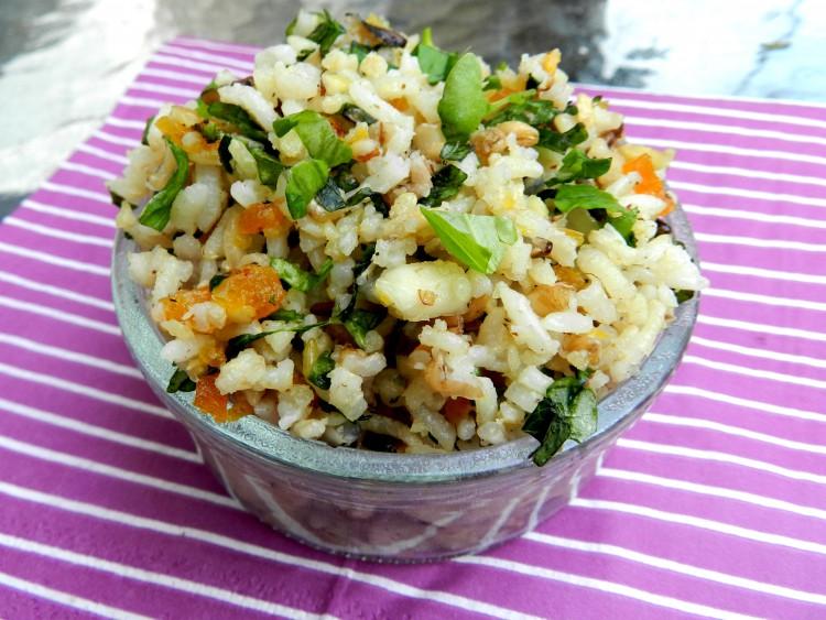 recept wilde rijst salade