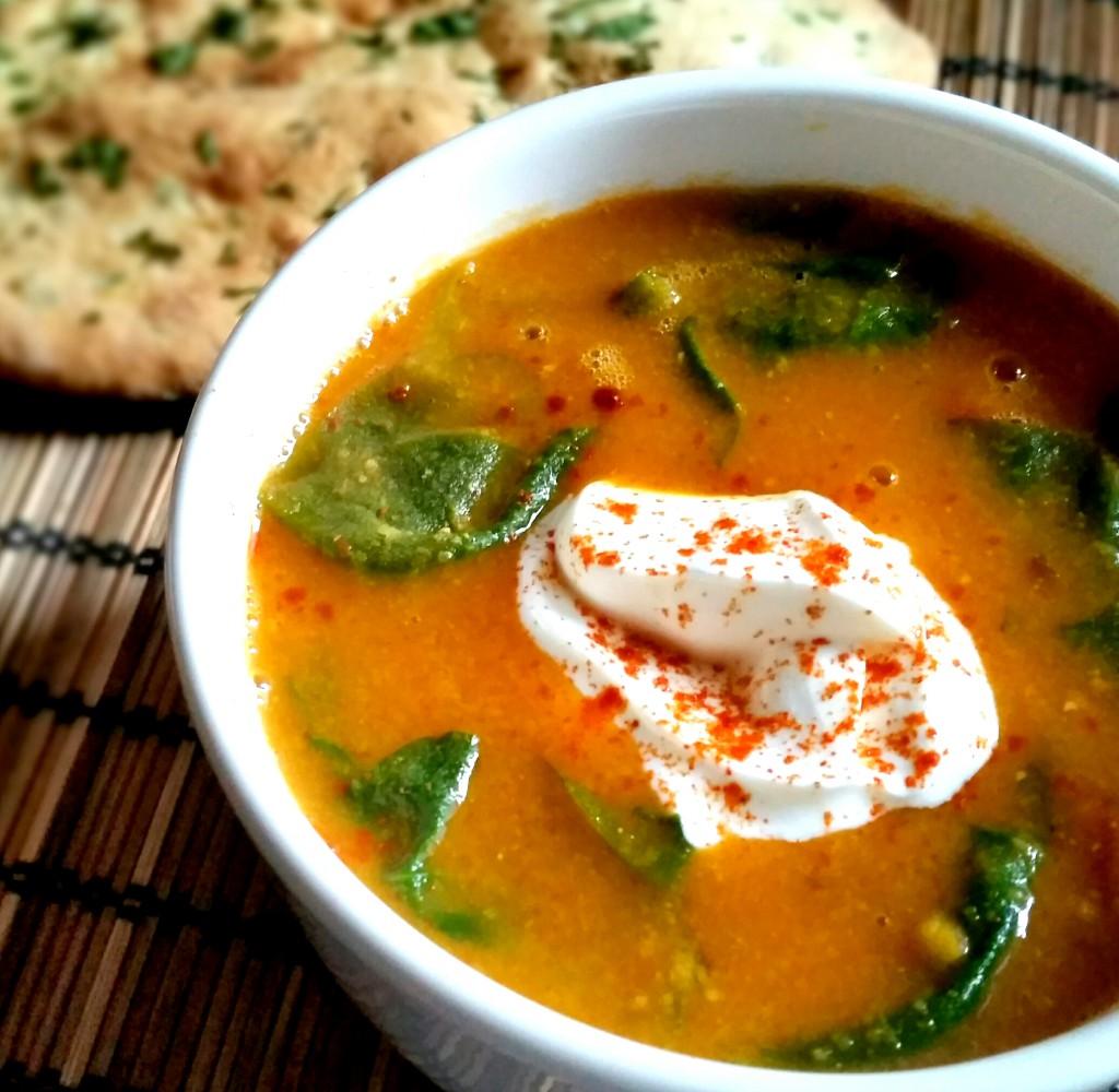 gele linzen soep