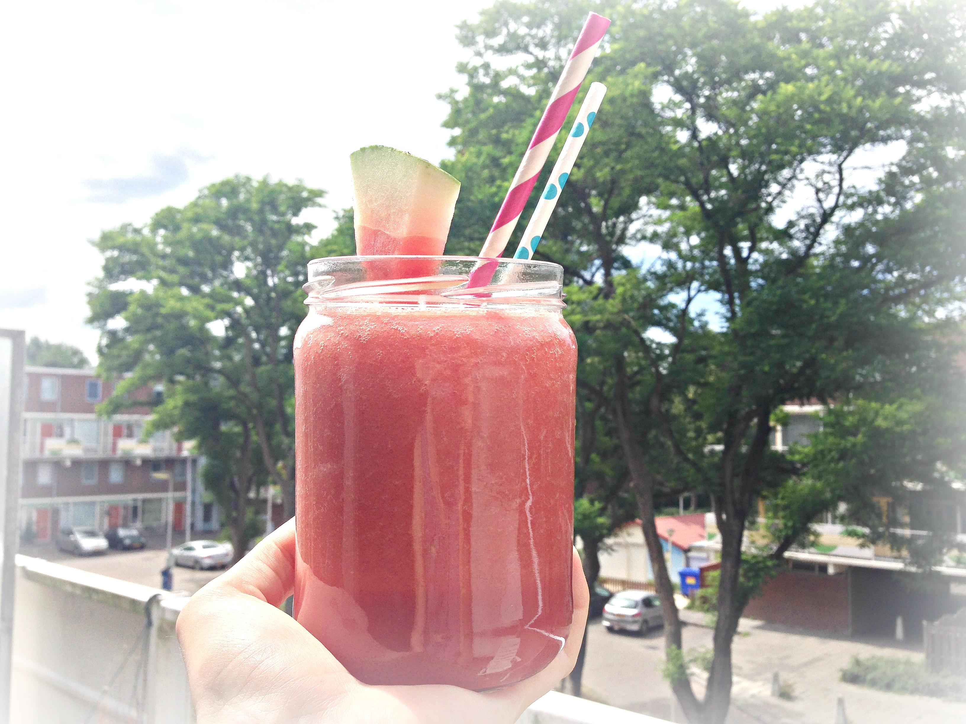 Gezonde frisdrank | Watermeloen-drankje